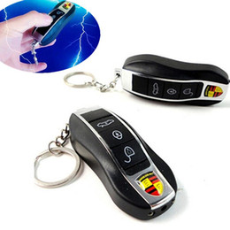 Funny prank giFts online shopping - Practical Joke Car Toy Electric Shock Gag Car Remote Control Key Funny Trick Prank Toy Gifts Simulation Car Remote Control Toy