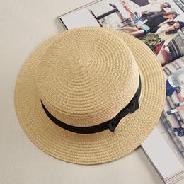 3dce958ede855 Summer Style Child Sun hat Beach Sunhat Fedora hat Trilby Straw boy girl  Gangster Cap Fit For Kids Children Women Men