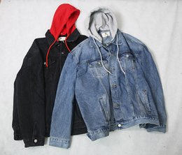 D branD jacket online shopping - Black Blue in stock new Denim Jacket Denim Coats Fashion Brand Men Clothing Autumn Winter Style HAVE REAL PICS SHOW