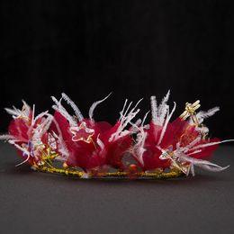 Smart Hair Australia - Feather headdress bride hair with sweet smart hair wedding bridal jewelry wedding dress accessories
