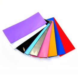 Battery Factory NZ - 18650 20700 26650 Battery PVC Heat Shrink Skin Sleeve 18650 Battery Wrapper Shrinkable Sticker Cover Colorful Factory Price High Quality