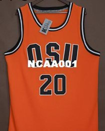 great basketball Canada - Men #20 Oregon State Gary Payton greats and glory college jersey Size S-4XL or custom any name or number jersey