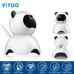 wi fi network camera NZ - 720P IP Camera Network Wi-Fi Wireless Network Surveillance Wifi Baby Monitor CCTV Camera Remote View Storage Onvif YITUO