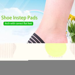 Beauty & Health 1 Pair Shoe Insole Comfortable Instep Pad Insoles Foot Health Flat Foot Arch Support Insoles Viscosity Shoe Insoles Skin Care Tools