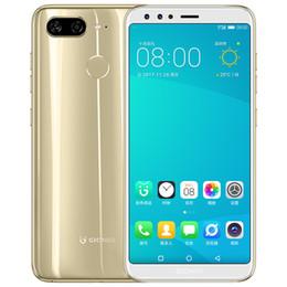 Original Gionee S11 4G LTE Teléfono celular 4GB RAM 64GB ROM Helio P23 Octa Core Android 5.99 pulgadas 16MP Identificación de huellas digitales Teléfono móvil inteligente Barato en venta