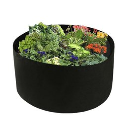 flower grows UK - Garden Plants Round Wall-mounted Planting Flower Growing Bag Vegetable Flower Aeration Planting Bonsai Pot Root ContainerA gallo