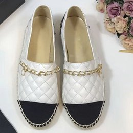 Thick Soled Wedding Shoes NZ - Classic Fashion Thick Soles Woman Flap Braided Fisherman Shoes Loafers Summer Round Toe Women Flats Shoes Slip on Designer Shoes size 35-41