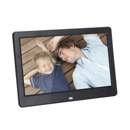 Discount video digital picture frame - New 10 Inch Digital Photo Frame LCD Screen LED Backlight HD 1024x600 Electronic Album Picture Music Video Gift Baby Marr