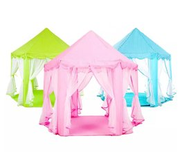 Kids indoor games online shopping - INS Children Portable Toy Tents Princess Castle Play Game Tent Activity Fairy House Fun Indoor Outdoor Sport Playhouse Toy Kids Gifts
