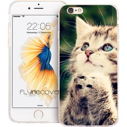 a294740b4e Coque Cat Kitten Pray Clear Soft TPU Silicone Phone Cover for iPhone X 7 8  Plus 5S 5 SE 6 6S Plus 5C 4S 4 iPod Touch 6 5 Cases.