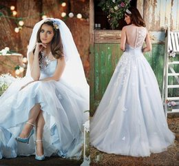 Garden Party Style Wedding Dresses | DHgate UK