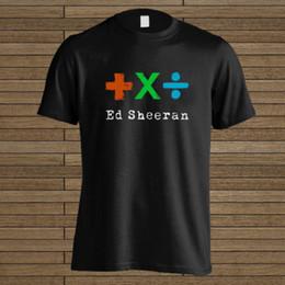 Hot T Shirts For Men Australia - Summer New Cotton T Shirt Printing Men Hot Ed Sheeran Logo O-Neck Short-Sleeve Shirt T Shirt For Men Crazy Short Sleeve Crewneck Cotton Plus
