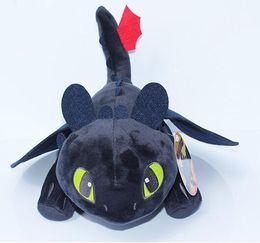 $enCountryForm.capitalKeyWord NZ - Dragon plush toys Toothless Night Fury stuffed doll kids Toys Stuffed Plus Animals Black Plush Toy Novelty dolls GGA1314