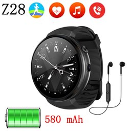$enCountryForm.capitalKeyWord UK - Z28 4G Smart Watch Android 7.0 ROM 16G+RAM 1G 580mAh GPS WIFI Hand-free call smartwatch Heart rate monitor Pedometer PK Z18 Q1