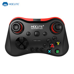 Discount game android joystick vr box - MOCUTE 056 Bluetooth Gamepad Crystal Buon Android Joystick PC Wireless Remote Controller Game Pad For Smartphones For VR