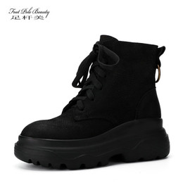 $enCountryForm.capitalKeyWord Canada - Women genuine leather Waterproof platform boots female comfortable High-top sneakers Ankle Boots Ladies Creepers platform shoes