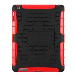 $enCountryForm.capitalKeyWord Australia - Rugged Silicon PC Rubber Armor Hard Shell Case For Apple iPad 2 3 4 A1458 A1459 A1460 Hybrid Heavy Duty Case+Stylus Pen+Film.