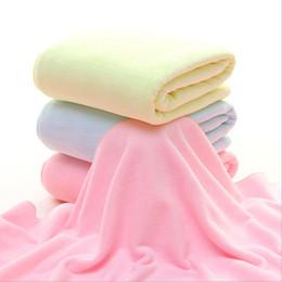 $enCountryForm.capitalKeyWord Canada - Baby Bath Towel Bathrobe Blanket for Newborn Infant Boys Girls Microfiber Very Soft Skincare Towels Bath Robe 80*140 cm