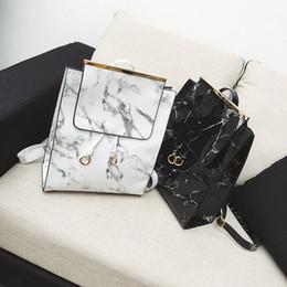 8aeb36260d Fashion Handbags Imitation Australia - The new 2018 pu handbag fashion  imitation marble women s backpack bag