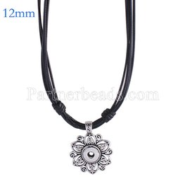 Discount fashion buttons wholesale - New Fashion Metal Snap Necklace snap jewelry fit 12mm mini buttons jewelry wholesale necklace charms for women KS0982-S
