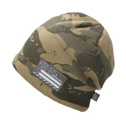 27261e44456 2016 New Counterterrorism Camo Caps Men Hats Warm Winter Kniing Skating Hat  Beanies Snowboard Fleece