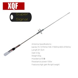 2018 dual band high gain antenna XQF NA770S Car Antenna Dual Band VHF UHFFor Mobile two way radio car radio NL770S High gain for QYT KT8900 BJ218 discount dual band high gain antenna