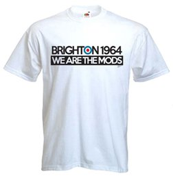 bae252b8329 Details zu BRIGHTON 1964 WE ARE THE MODS T-SHIRT - Mod Quadrophenia Target  The Who Jam Funny free shipping Casual tee