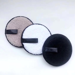 magic fiber clean NZ - 3PCS Set Magic Cleaning Cookie Makeup Remover Reusable Facial Cleansing Pad Face Clean Tool acrylic fiber Cotton Pad