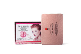 Chinese  TLM authentic blush 12 color paste a box Nature does not take off makeup manufacturers