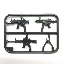 China Military Swat Team Guns Weapon Pack Building Blocks City Soldiers Figure Accessories WW2 Military Army Gun Bricks Series Toys suppliers
