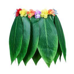 $enCountryForm.capitalKeyWord Australia - TKOH Party Decorative Hula Skirt The Tropical Style Hawaiian Leaves Skirt Summer Party DIY Props For Costume