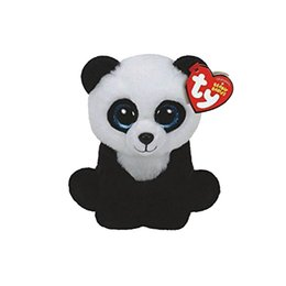 Wholesale Toys Plush Bears UK - Ty Beanie Babies 6 & 15cm Ming the Panda Bear Plush Regular Stuffed Animal Collection Soft Doll Toy with Heart Tag