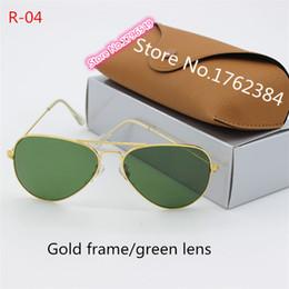 58b2d327b69a Fashion new oval metal sunglasses high quality designer glasses glass lens  men and women general sunglasses anti-UV radiation glasses