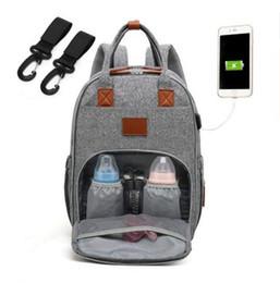 BaBy diaper handBags online shopping - Mommy Diaper Bags Baby Nappies Backpacks Maternity Brand Shoulder Bag Travel Handbags Outdoor Nursing Bag Organizer MMA1065