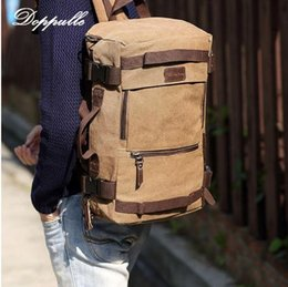 women canvas lace backpacks NZ - DOPPULLE High Capacity Backpack Retro Style Man Woman Canvas backpack Travel Bag Shoulder Bag Handbag Mountaineering backpacks