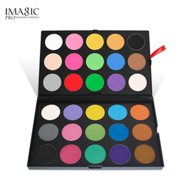 Wholesale Glitter Products UK - IMAGIC Professional 30 Color Eyeshadow Palette Shimmer Matte eyeshadow Powder Beauty Product Cosmetics Pallete 12sets lot DHL
