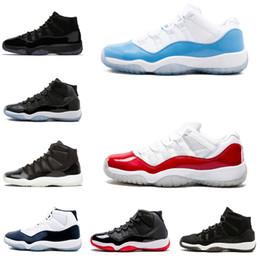 sports shoes 4db9d 72bd5 Großhandel Nike Air Jordan 11 Retro AJ11 11 11s Basketball Schuhe Für Männer  Sport Kappe Und Kleid Gym Red UNC PRM Heide Raum Marmelade Gamma Blau  Frauen ...