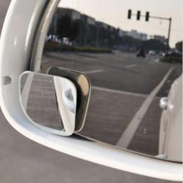 $enCountryForm.capitalKeyWord NZ - VODOOL 2pcs Clear Car Rear View Mirror 360 Rotating Adjustable Fixable Convex Blind Spot Mirror Parking Auto Motorcycle