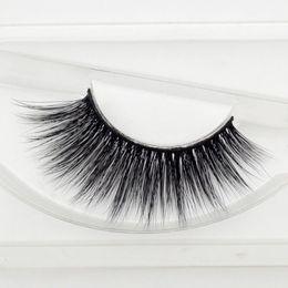 Top False Eyelashes Australia - New Styles P16 100% 3D mink Eyelashes natural long thick false eyelashes fake top lashes extensions handmade eyelashes makeup Free Shipping