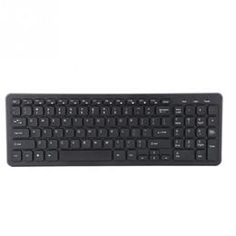 Media Keys Australia - 96 Keys Comfortable Typing Wireless USB Keyboard FN Media Keys 2.4G Wireless Keyboards 2018 new style
