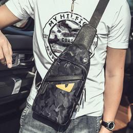 Mens designer cross body bags online shopping - Designer Crossbody Bag Little Monster Fanny Pack Waist Bag High Quality Fashion Mens Small Waist Bags Easy To Charge