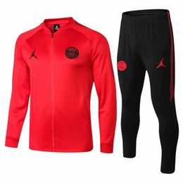 092df09df6e Best selling new PSG tracksuits VERRATTI Lucas 18 19 Paris Saint Germai  Sportswear Suit CAVANI training suit soccer jersey MBAPPE football