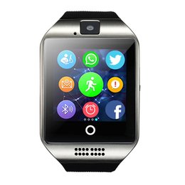 Digital camera controls online shopping - Smart Watch Q18 Digital Wrist with Men Bluetooth Electronics SIM Card Sport Smartwatch Camera For iPhone Android Phone
