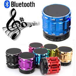 speaker boxes 2019 - Colorful MINI SPEAKER Wireless Portable Bluetooth Hands-free Super Bass Stereo Music Box For Phone Laptop Tablet PC chea