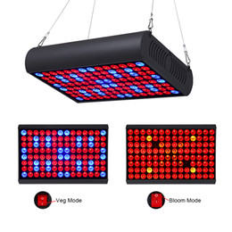 blooming lamp 2019 - LED Grow Light 300W Full Spectrum Panel with Veg & Bloom Dual Mode Growing Lamps with Extendable Jack for Greenhouse Pla