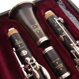 ebony models 2019 - New BUFFET CRAMPON Clarinet Professional Level Model TRADITION Sandalwood Ebony Wood and Bakelite A Clarinet 17 Keys che