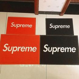 SUP бренд ковры для дома отель мода красные ковры для двери хип-хоп скейтборд ковры Главная нескользящей ковер