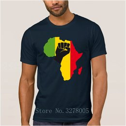 best black tee shirt Canada - Brand La Maxpa Designing Best African Black Power T Shirts Kawaii Super T-Shirt Man Sunlight Cotton Simple Male Tee Shirt Cheap