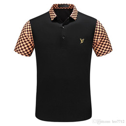 Guitar fashion online shopping - New Summer Men s Black White Casual Guitar Print Polo Shirt Fashion Slim Short Sleeve Polo Shirt Men s Polo Shirt Asian Size M XL