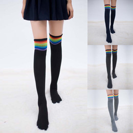 Discount thigh high stocks - Women Winter Warm Cable Long Boot Socks Over Knee Thigh High Stocks High school Meias calca feminina Calcetines Collant